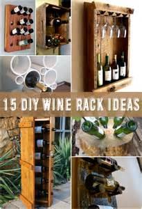 15 amazing diy wine rack ideas the craftiest