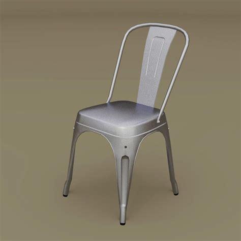 Marais A Chair 3D Model FormFonts 3D Models & Textures