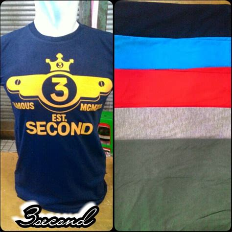 T Shirt Kaos Three Second galeri kaos distro 3second 15 april 2015