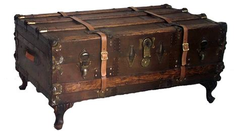 steamer trunk coffee table antique steamer trunk coffee table omero home