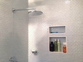 white glass mini subway tile shower walls subway tile outlet