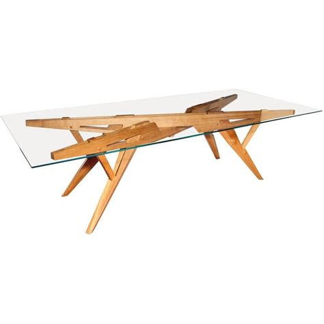 architectural dining table by l opere e i giorni for sale