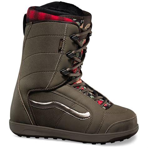 vans hi standard snowboard boots s 2016 evo outlet