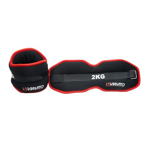 Lp Support Pilates Toning 2kg viavito 2 x 2kg ankle weights