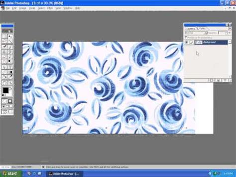 fabric pattern making software photoshop in textile design emerging of designs avi youtube