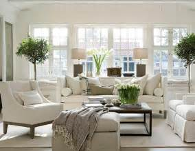 Beautiful Livingrooms Decorating With Bright Modern White