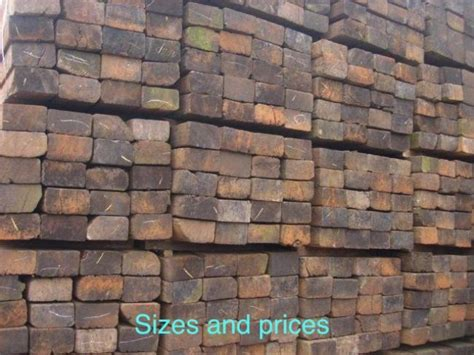 railway sleepers sale of new used railway sleepers