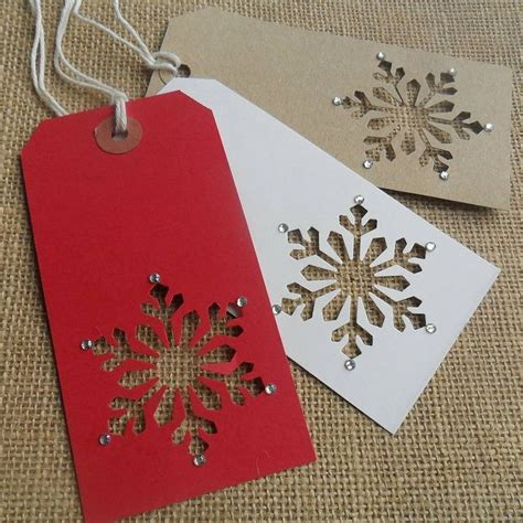 Handmade Christmas Gift Cards - 25 best ideas about christmas gift tags on pinterest christmas tag gift wrapping