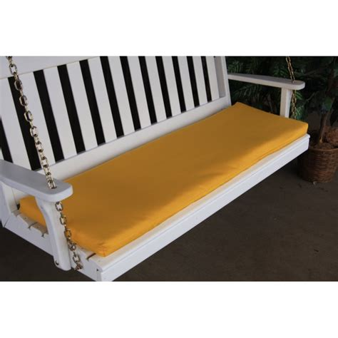 porch swing bench 6 ft bench porch swing glider outdoor cushion