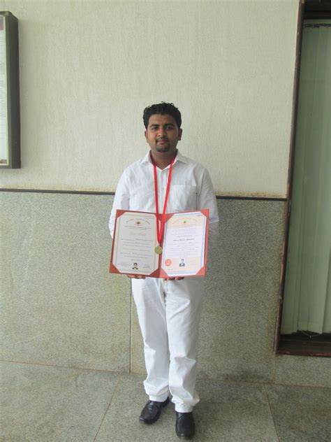 Jain College Of Mca And Mba Belagavi Karnataka 590014 by Jcmm Student Siddharth Choury Secures Rank 1 Gold Medal