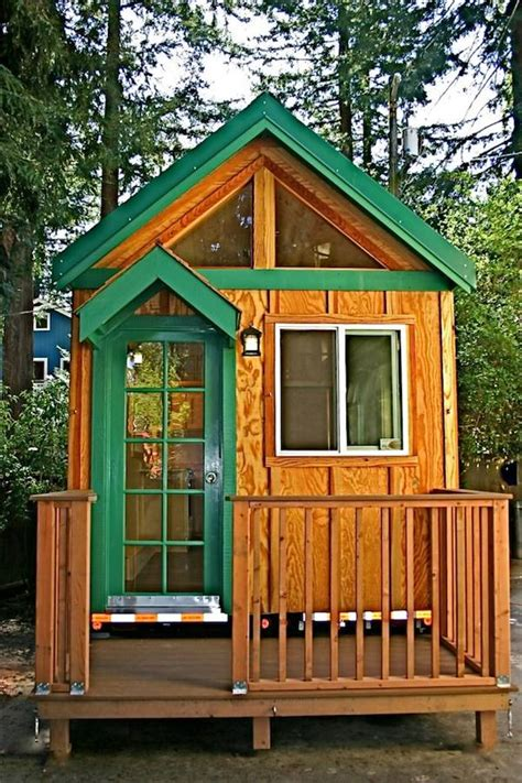 tiny house with porch tiny house with a flip up porch
