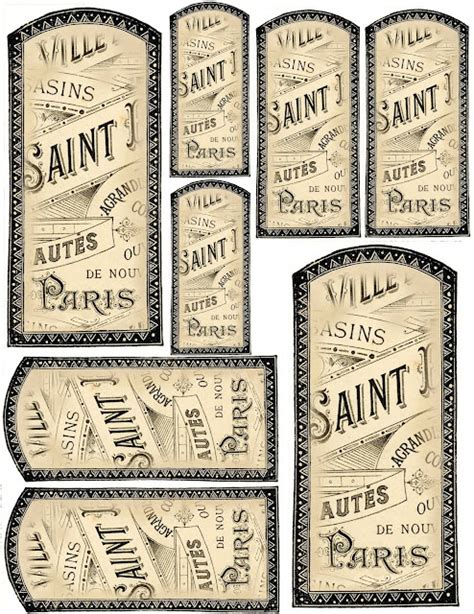printable extract labels quot french vanilla quot labels or tags made by combining an