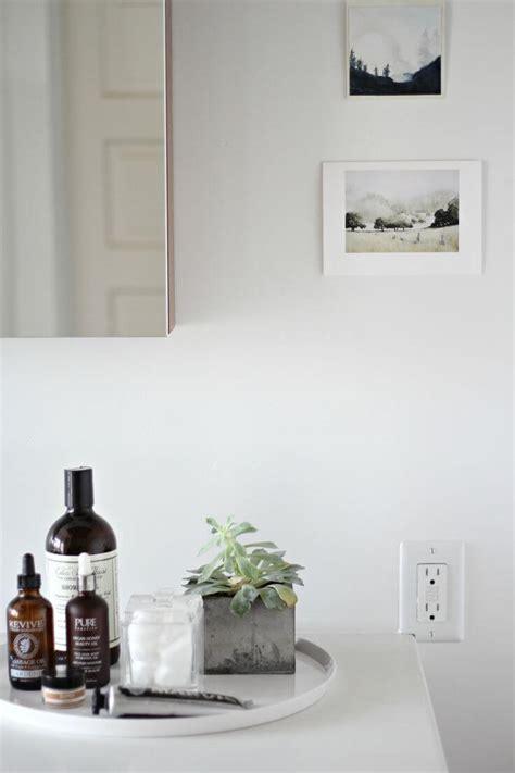 Bathroom Styling | 9 bathroom vignettes