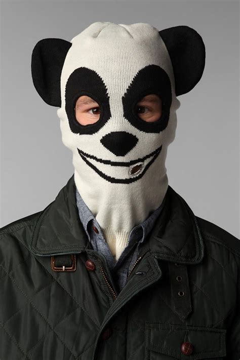 Masker Panda panda ski mask a must fashion