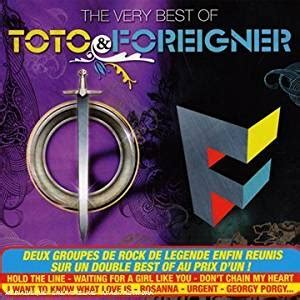 toto best of the best of toto the best of foreigner toto