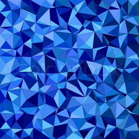 blue triangle pattern vector background blue irregular triangle mosaic vector background design