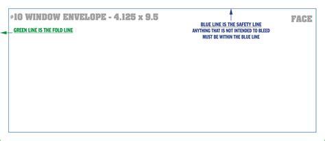 Titheenvelopes Templates 4 125 X 9 5 Envelope Template