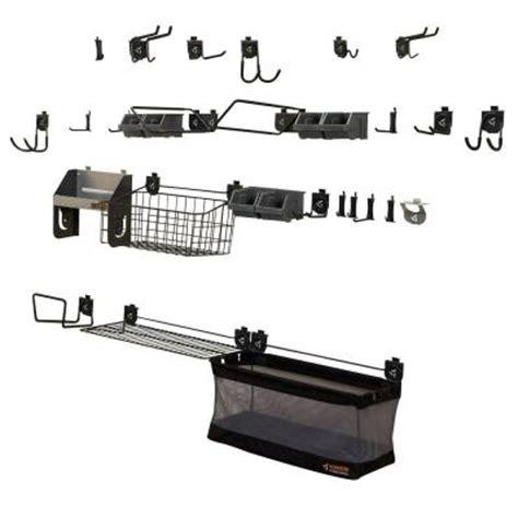 Garage Organization Mega Kit Gladiator Geartrack And Gearwall Organization Mega Kit