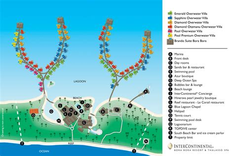 St Regis Floor Plan Resort Map Amp Location