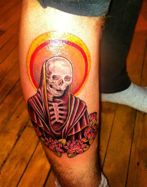 santa muerte tattoo meaning santa muerte ink
