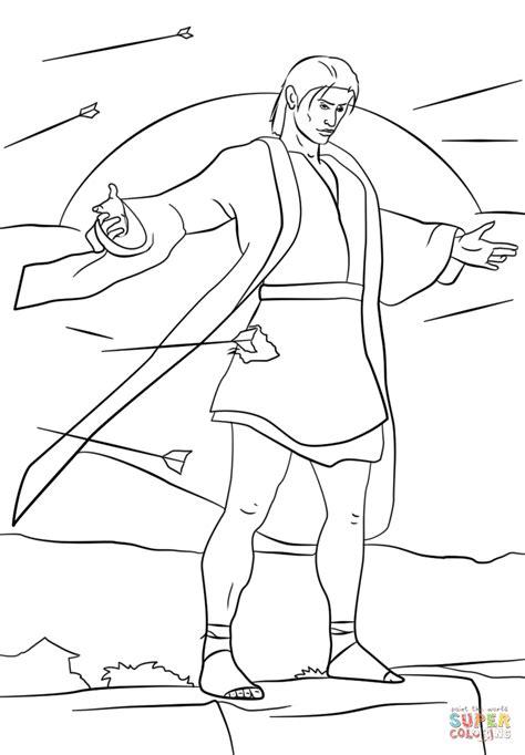 lds coloring pages samuel the lamanite samuel the lamanite coloring page free printable