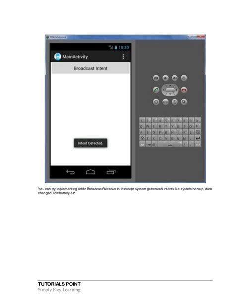android broadcastreceiver tutorial android tutorial