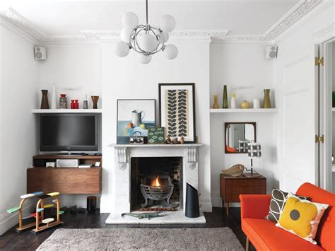 orla kiely living room colorful mid century modern home with touches digsdigs