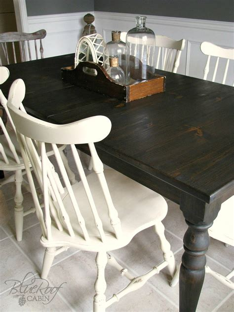 black chairs farmhouse table 1000 images about dining room on industrial