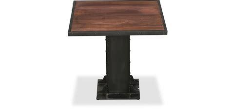 maison du monde lade da tavolo tavolo da pranzo quadrato di metallo in stile industriale