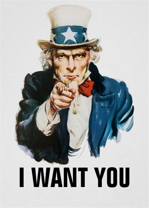 i want you uncle sam i want you art print poster 17x13inch decor 03