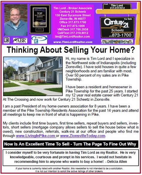 just published thinking about selling your home
