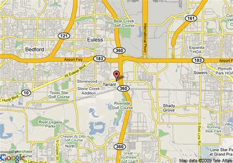 map of euless texas map of days inn euless dfw airport south six flags euless