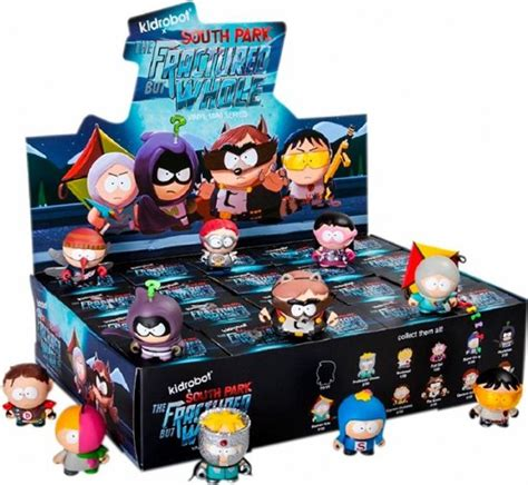 south park the fractured but whole 3 blind box kidrobot blind box mini series south park fractured but