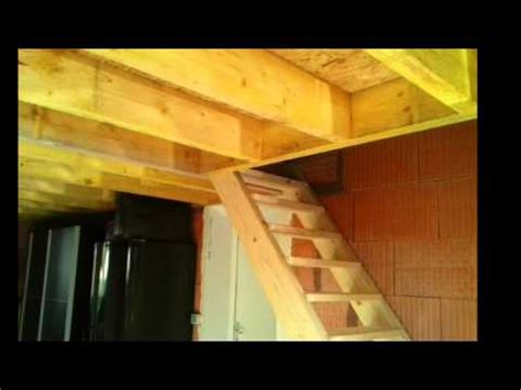 Plans For Garage by Cr 233 Ation D Un 233 Tage Dans Un Garage Youtube