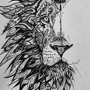 pattern drawing lion zentangle lion hľadať googlom love pinterest