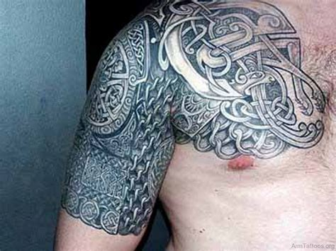 celtic tribal shoulder tattoos 73 amazing celtic tattoos for arm