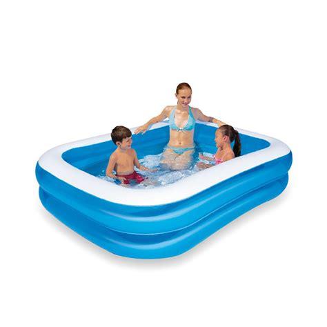 klein opblaasbadje zwembad opblaasbaar aanbieding kleine kastjes voor aan