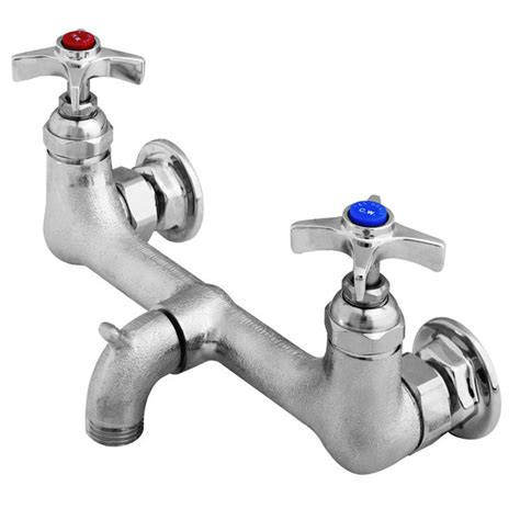 Mop Sink Faucets by T S B 2480 Service Sink Faucet With Chrome Plated