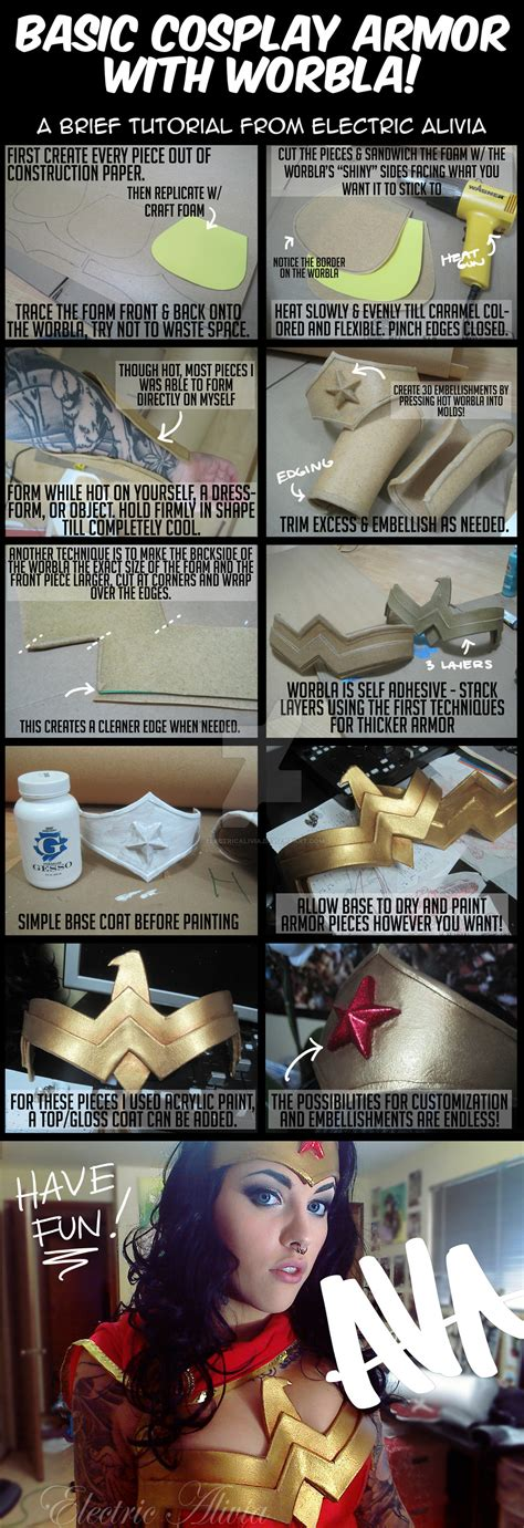 tutorial ali cosplay cosplay armor with worbla by electricalivia on deviantart