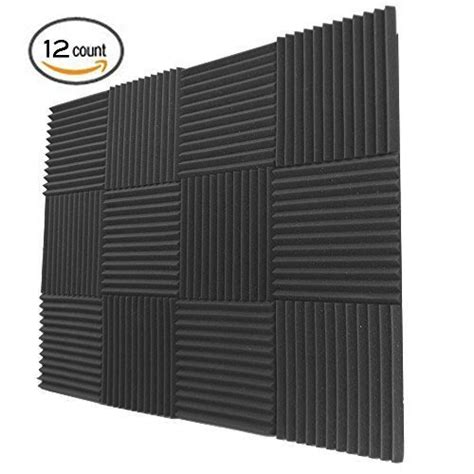 Amazon Ca Gift Card Paypal - 12 pack acoustic panels studio foam wedges 1 quot x 12 quot x 12 quot charcoal chickadee solutions