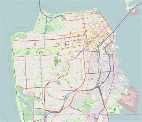 san francisco landmarks map san francisco designated landmark 90