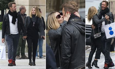 chris martin and girlfriend chris martin and annabelle wallis share passionate kiss in