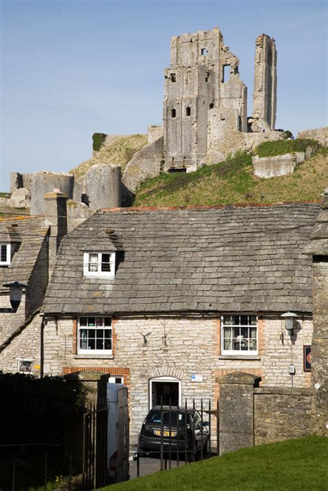 Cottage Corfe Castle corfe castle and cottage photos of dorset