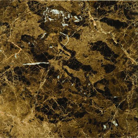 shop emser 5 pack marrone emperador dark marble floor and