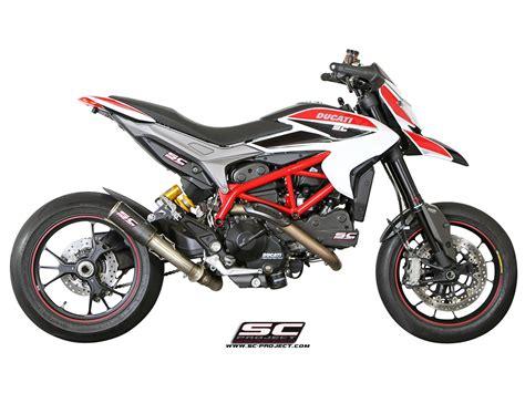 Ktm Strada Aufkleber by Sc Project Exhaust Ducati Hypermotard 821 Cr T Silencer