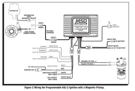 msd 6al wiring diagram hei distributor 38 wiring diagram