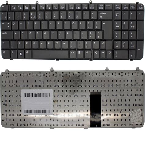 non us keyboard layout new hp pavilion dv9000 dv9100 dv9200 laptop keyboard black