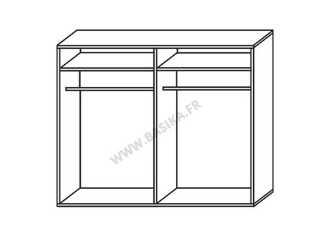 Brillante Jazzy armoire 2 portes en 180 cm laqu 233 e jazzy structure