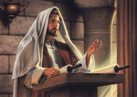 imagenes de jesus leyendo en la sinagoga citas b 237 blicas jes 250 s en la sinagoga