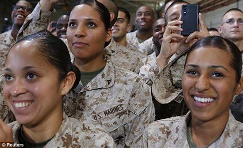marine female hair regulations u s marines weaken fitness requirement for women won t